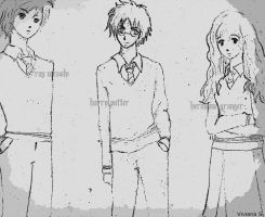 Harry Potter (Anime) by ViviMaslow