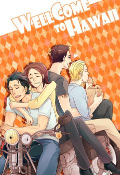 Hawaii five-o fanbook cover by shadowfree99