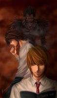 death_note by K-DDS