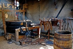 blacksmith colored by augenweide