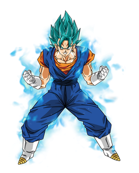 Vegetto Super Saiyan Blue by BardockSonic