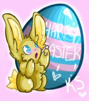 Happy Easter by kittenspore