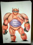 big hero 6 by hikefd