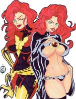 Dark Phoenix Goblin Queen by SSaruman