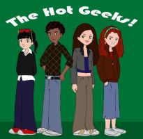The Hot Geeks by uh-oh
