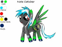 ADOPTABLE! Note Catcher. by Peach-the-mouse