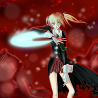 Soul Eater: Maka - Demon Weapon Scythe?! by LadyVVinter