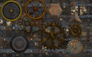 Rusty IronWorks PSD by manoluv