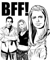 Buffy BFF by SinaGrace