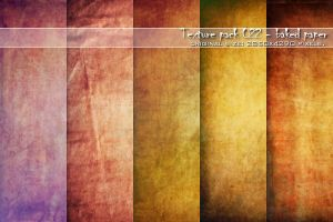 :: Texture pack 022 - Baked Paper :: by Liek