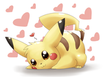 Pikachu's so adorable X3 by Togechu
