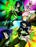 Shego Taste Her Own Medicine:1 (commission) by Cicada-Media