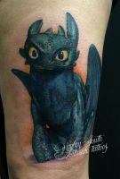 Toothless! by kayleytatts