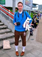 Tintin and Snowy by ZeroKing2015