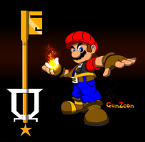 Mushroom KH Mario Color by GunZcon
