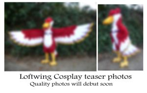 Loftwing Cosplay - 95 percent done by LilleahWest