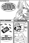 One Piece:High School Never Ends Page One by Reverendbug
