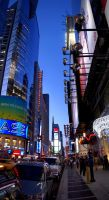 Times Square by geolio