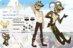 .:Miraculous Adventures:. Luca Vidal by Nye-Eclipsion