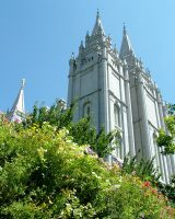 Salt Lake Temple by todds201