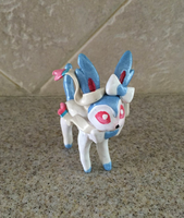Shiny Sylveon Figure for Sale! by AmethystCreatures