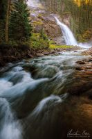 Krimml Waterfalls III by Nightline