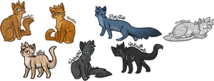 Flash Warrior Cats by Nifty-senpai