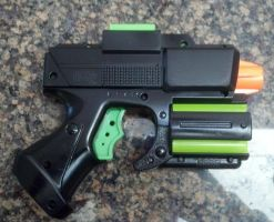Nerf: Crossfire First paint test by Shirlendra