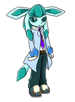 Dr. Seiji Yamakita the Glaceon by BerserkBreaker