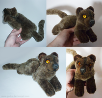 FOR SALE: Fossa - small floppy by goiku