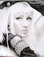 Christina Aguilera Drawing SW by jardc87