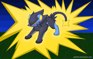 Luxray by Panthen