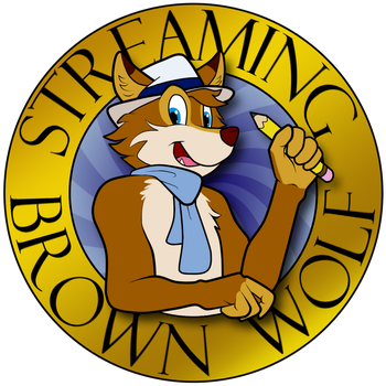 Streaming Logo by BrownWolfFM