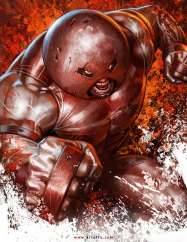 X-MEN: Juggernaut by ArtofTu