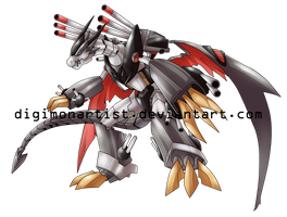 MetalRyumon by DigimonArtist