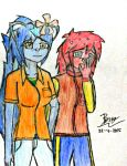 Blue and Red by Mutfurry