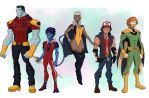 Giant-Sized X-men by cspencey