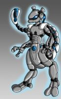 Mech Mewtwo by Wing-Saber