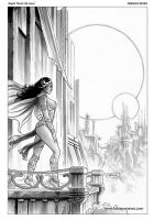 Dejah Thoris 16 Cover Art by FabianoNeves