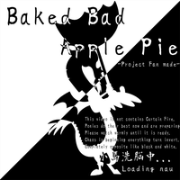Baked Bad Apple Pie Loading Screen Idea by sudro