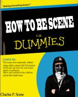 How To Be Scene For Dummies by Wyldfire7