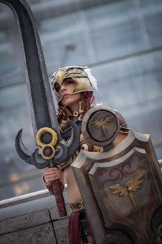Valkyrie Leona Cosplay: Chosen Of The Sun by MomoeHamaguchi