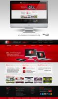 Media Marketers website redesign by Stephen-Coelho