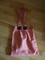 Red gingham bag by TheUberChezz
