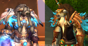 Female tauren customized by CunningFox