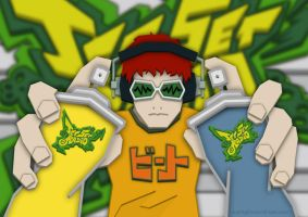 Jet Set Radio - Beat by pencil-addict