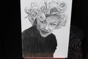 Marilyn Monroe by graphartist64
