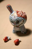 custom bunny zombie dunny by anthonyDeVito
