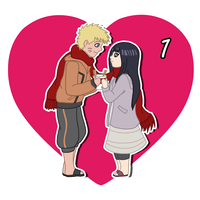 14 Days of OTP Treats_NarutoxHinata by MevrouwRoze