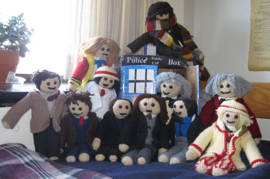 The TARDIS And Her Doctors by Wolverinegal